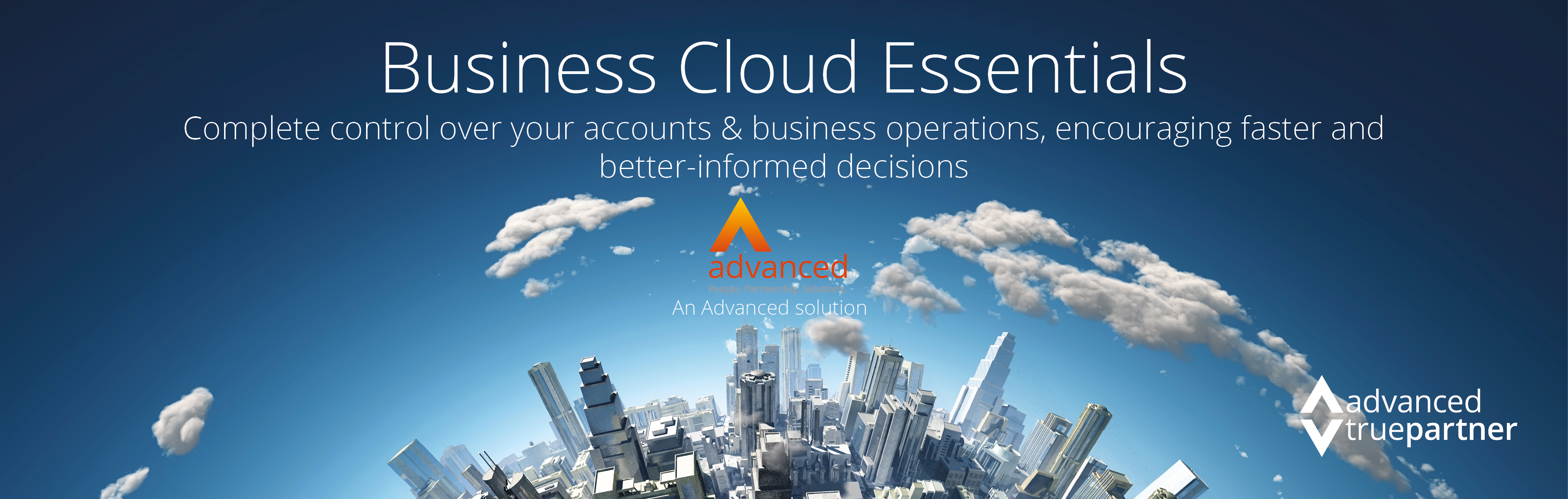 Advanced Business Cloud Essentials - Perrywell join Advanced TruePartner Programme