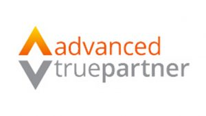 Advanced true partner logo IT services examples